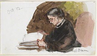 Annie Dixon British artist of miniatures died 1901