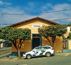 Antiga estação ferroviária de Conduru