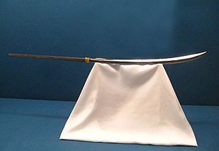 <i>Naginata</i> Type of pole weapon
