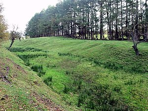 Westerwood - Antonine Wall near Westerwood