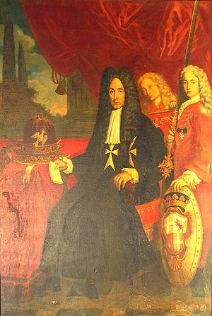 António Manoel de Vilhena - Painting of Grand Master de Vilhena