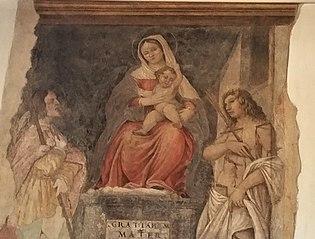 Madonna col Bambino tra San Rocco e San Sebastiano