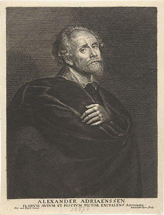 Alexander Adriaenssen - Image: Antony van der Does, Frans Denys Portrait of Alexander Adriaenssen