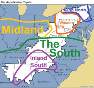 Appalachian English dialect of the English language