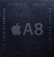 Description de l'image Apple A8 system-on-a-chip.jpg.