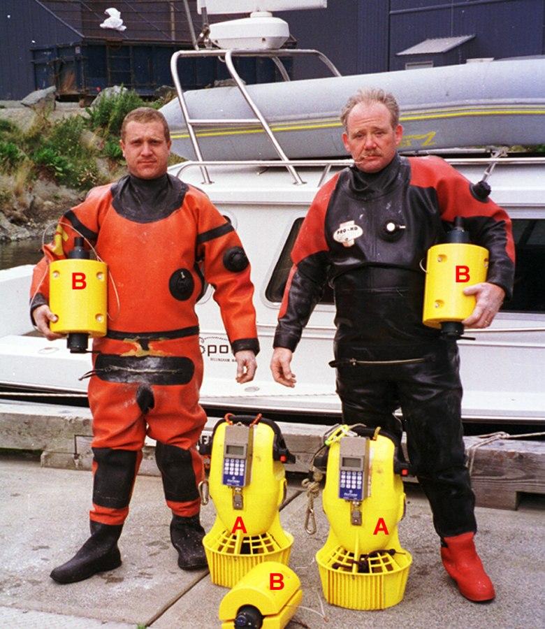 AquaMap Diver LBL Acoustic Positioning Equipment