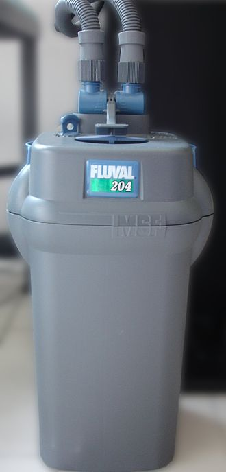Filter (aquarium) - A commercially available canister filter