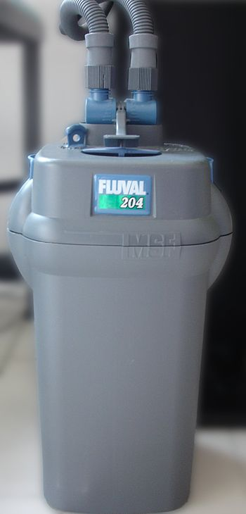 A commercially available canister filter