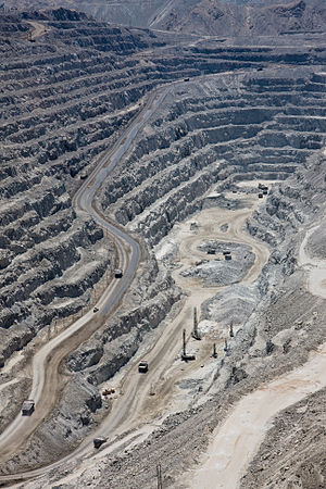 Nuclear labor issues - Rössig open-pit uranium mine near Arandis, Namibia