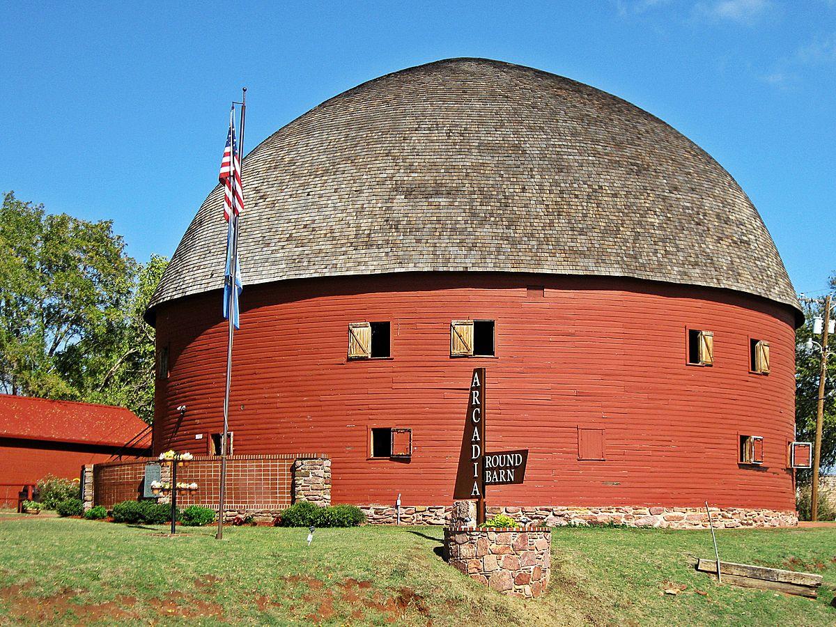 Arcadia Round Barn - Wikipedia