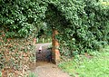 Arched doorway on towpath of Oxford Canal beside Cropredy Mill Bridge (154) - geograph.org.uk - 1433041.jpg