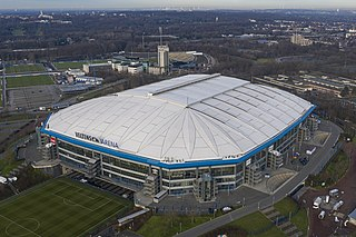 Arena AufSchalke stadium in the city of Gelsenkirchen, Germany