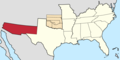 Arizona Territory in Confederate States.png
