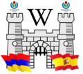 Armenian-Spanish collaboration logo, castles contest1.png
