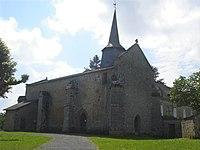 Arrènes (Creuse, Fr), l'église.JPG