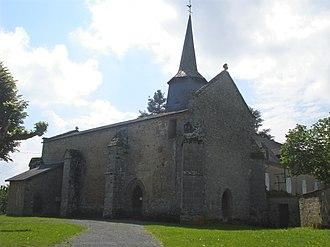 Arrènes - The church of Arrènes