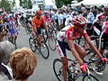 Arrival in Mulhouse, 9th day Tour de France, 2005.JPG