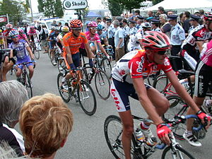 image of Arrival in Mulhouse, 9th day Tour de France, 2005