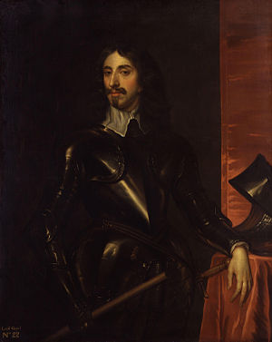 Arthur Capell, 1st Baron Capell of Hadham - Portrait by Henry Paert the Elder