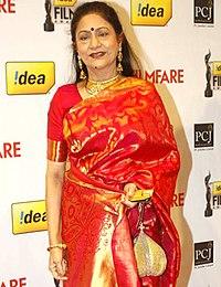 Aruna Irani at 57th Filmfare Awards.jpg