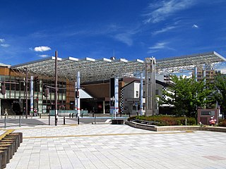 Asaka Station (Saitama) Railway station in Asaka, Saitama Prefecture, Japan