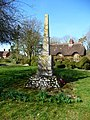 Ashmansworth - War Memorial - geograph.org.uk - 1204712.jpg