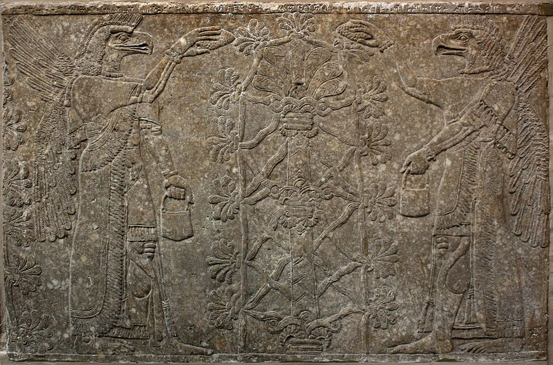 File:Assyrian Relief - British Museum.jpg