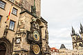 Astronomical Clock Prague 2014-01 (Tower, left side).jpg