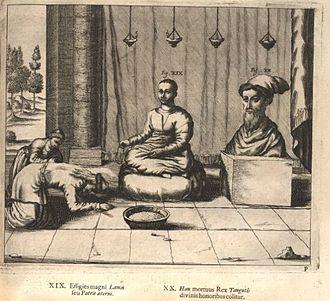 History of European exploration in Tibet - 1667 illustration