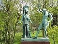 Athena and Marsyas - Copenhagen Botanical Garden - DSC07527.JPG