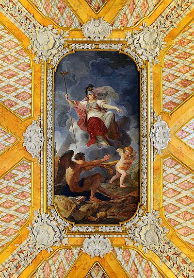 Athena punishes Daedalus