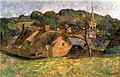 Attributed to Gauguin - A Landscape at Pont Aven, 1888.jpg