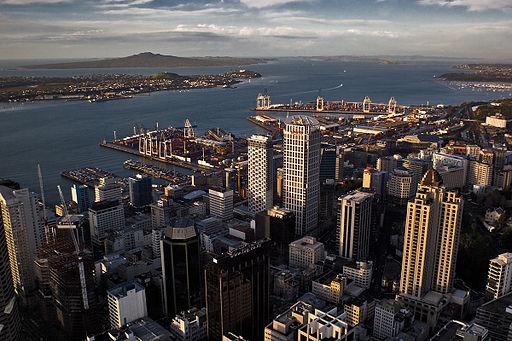 Auckland cbd view