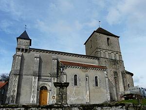 Augignac - Image: Augignac église (1)