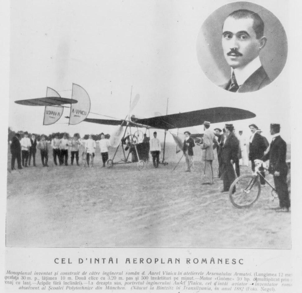 Aurel Vlaicu first flight