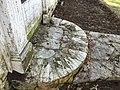 Austin Magie Homestead, millstone stoop at main entry.jpg
