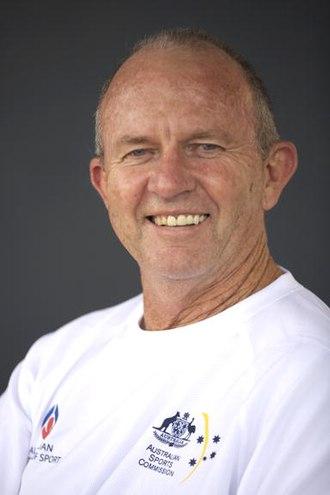 Barry Dancer - Barry Dancer Australian Men's Hockey Coach 2008