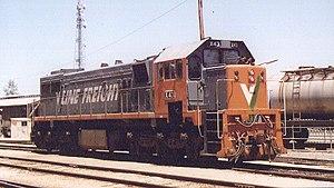 Public Transport Corporation - V/Line Freight livered X43