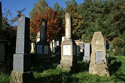 Autumn in Veselice cemetery 02.jpg