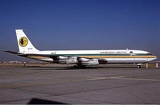 Azerbaijan Airlines - Azerbaijan Airlines Boeing 707-300 in 1995