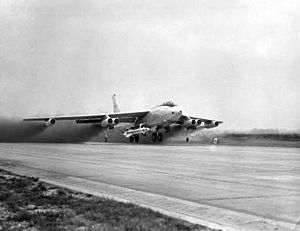 B-47 takeoff with Bold Orion.jpg