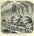 B21496626 0005 0633 Les merveilles de la science Inventions scientifiques dupuis 1870 Supplément au aérostats. Atelier de construction des ballons, à la gare d'Orléans 1870 Illustration.jpg