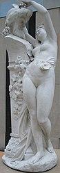 Albert-Ernest Carrier-Belleuse: The Bacchante