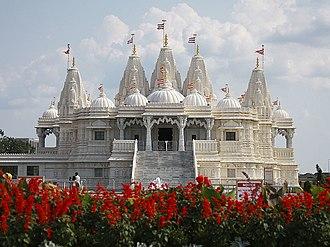 BAPS Shri Swaminarayan Mandir Toronto - Image: BAPS Toronto Mandir exterior 5