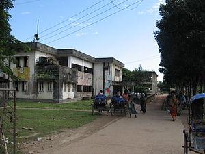 Mohanganj Upazila - Skyline of Mohanganj, Bangladesh