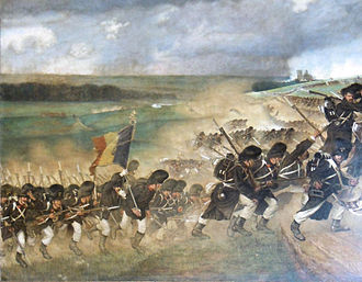 Belgian Land Component - The Regiment of Grenadiers on maneuvers 1894