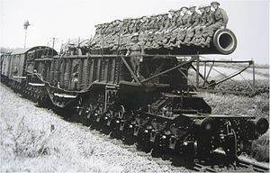BL 18 Inch Railway Howitzer, Top Ten Biggest Guns Ever Made In History
