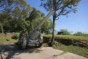 BL 6-inch Gun Mk XIX - Gun at Signal Hill, Cape Town