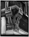 BRACKETS ABOVE NORTHEAST CORNER PIER - 823 Vine Street (Commercial Building), Cincinnati, Hamilton County, OH HABS OHIO,31-CINT,76-7.tif