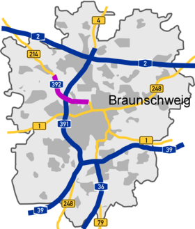 image illustrative de l'article Bundesautobahn 392